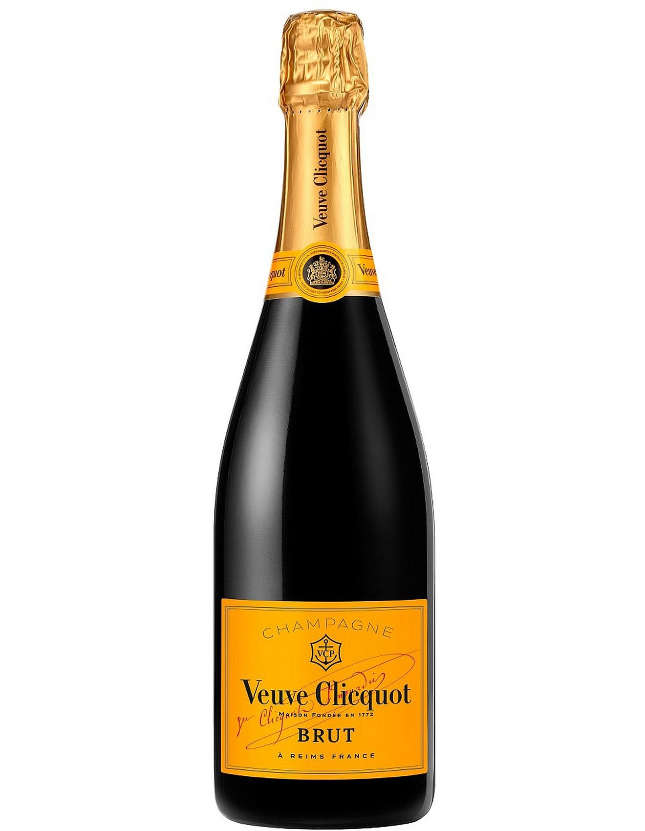 Veuve Clicquot Brut Wine Champagne And Spirits David Jones Yellow Label