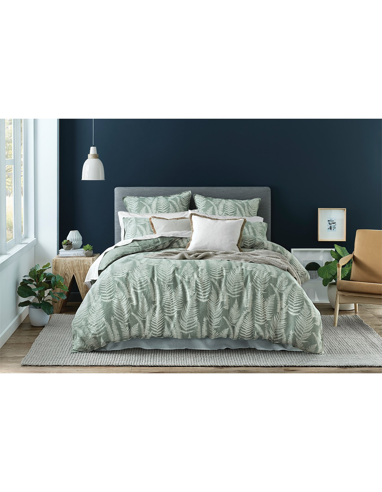 Double Bed Afterpay Fern Double Bed Quilt Cover