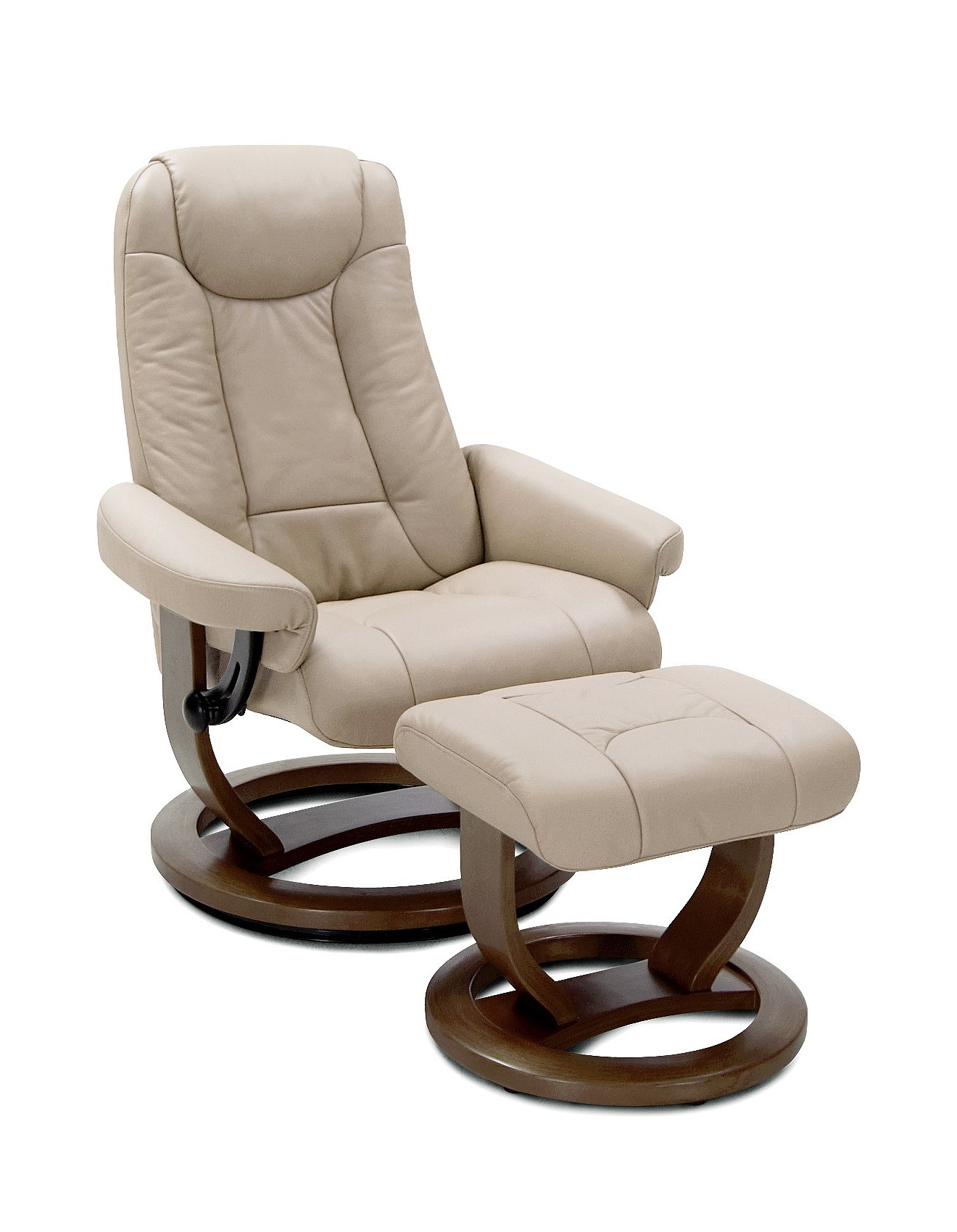 Moran Recliners Chairs Maitland Active Comfort Chair Sterling Latte Leather