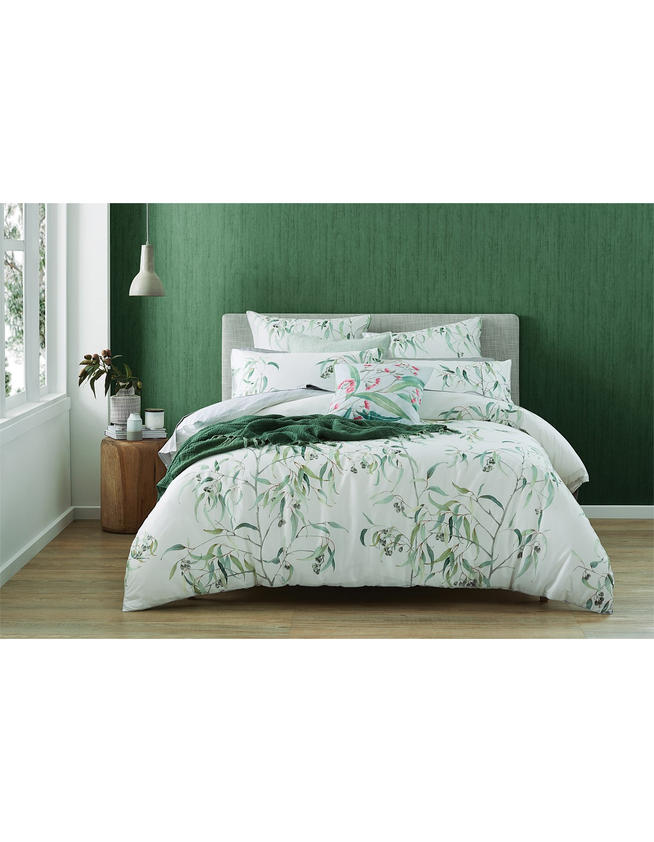 Single Doona Cover Bed Linen Eucalyptus Single Bed Quilt Cover