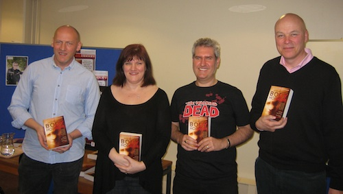 Body Horror Signing Chesterfield 10th March 2012, photo courtesy Amanda Thompson, BBR