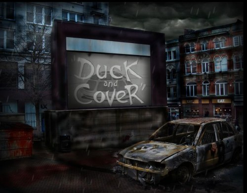 Duck and Cover - graphics and animation by Daniel Boucher