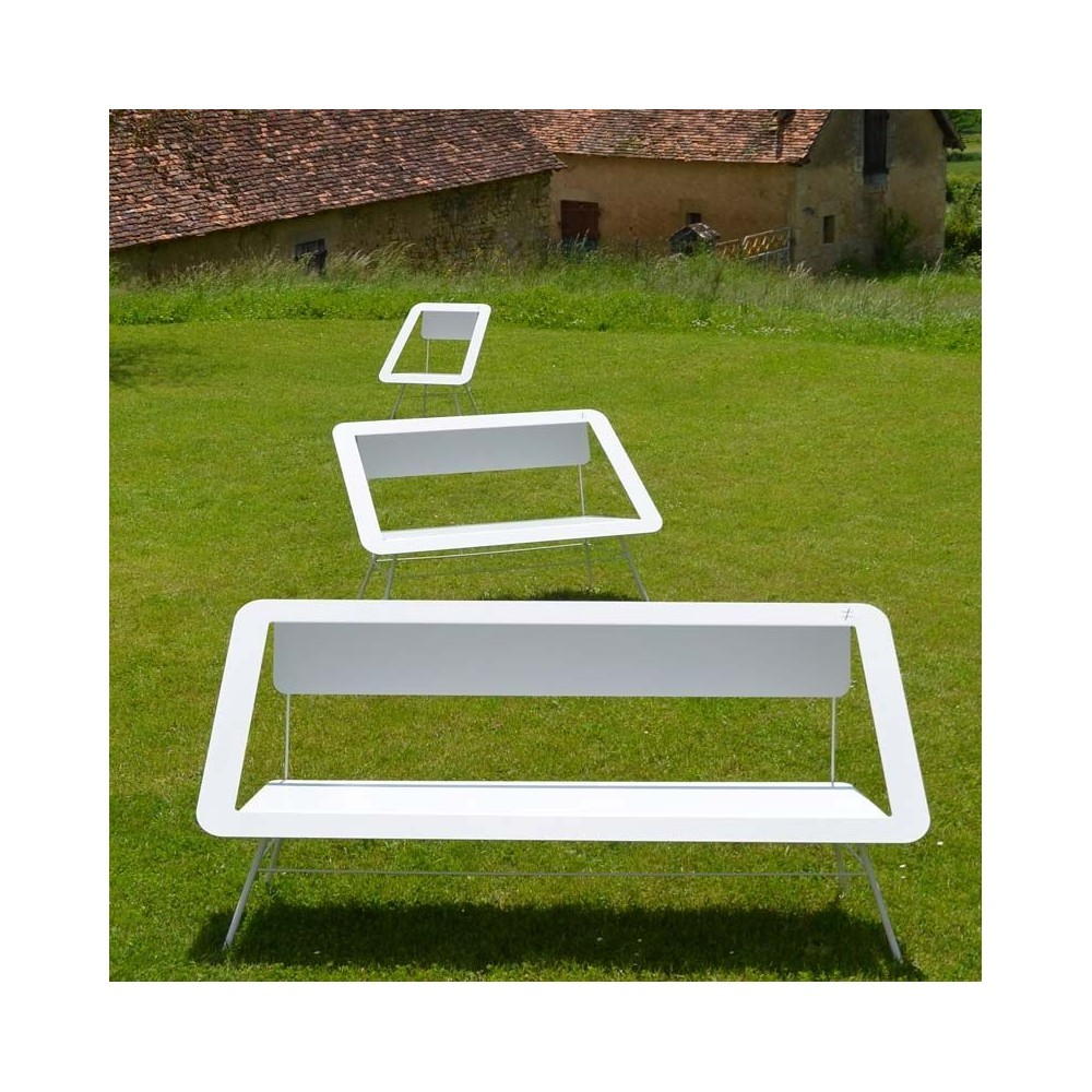 Banc Salon Banc De Jardin Design Banquette 3 Places Salon Contemporain Bois