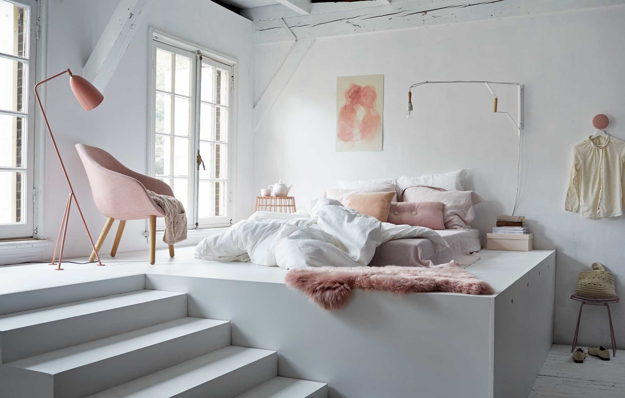 Chambre Taupe   Chambre Taupe Et Pastel
