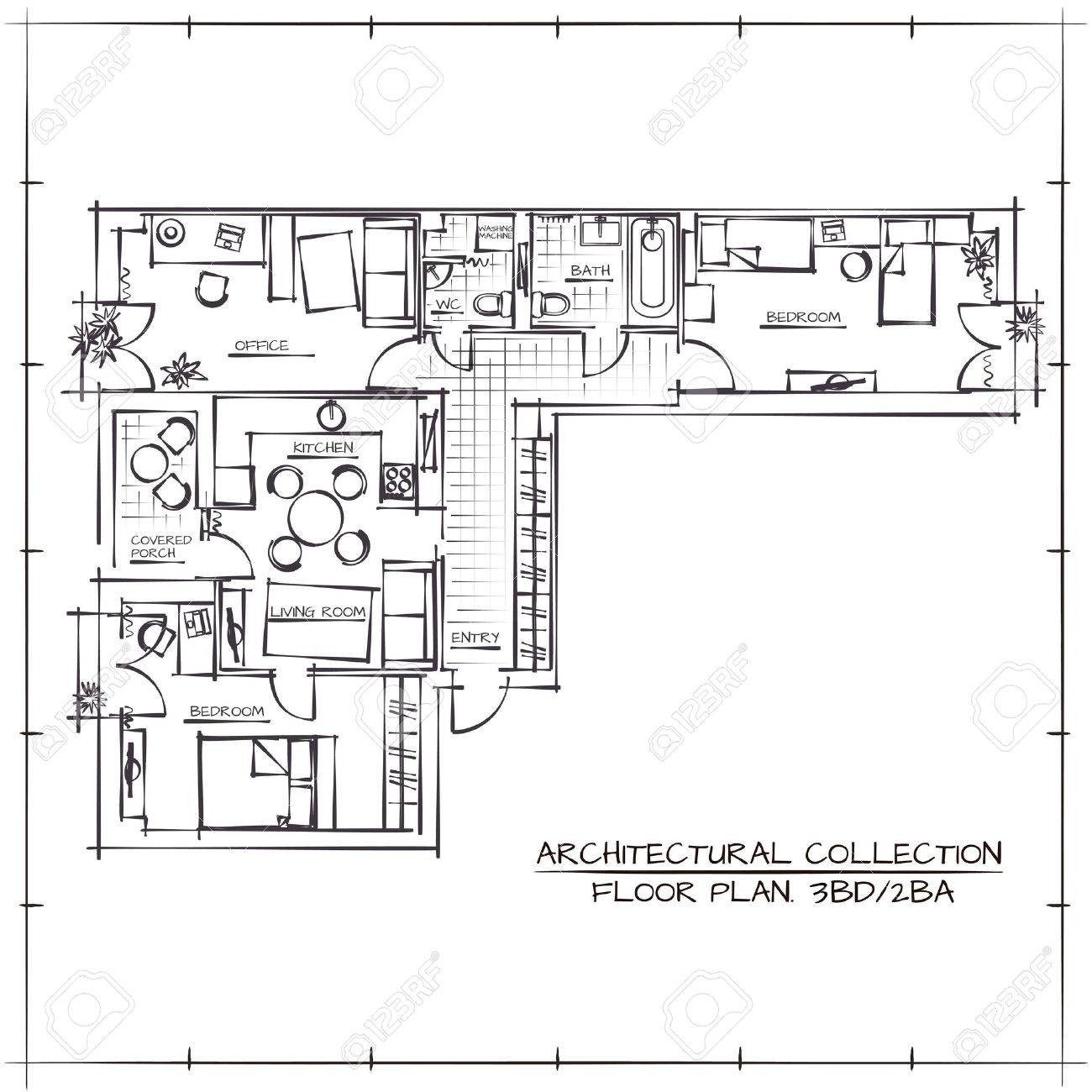 Comment Dessiner Un Plan Comment Dessiner Un Plan D Appartement Davidreed Co