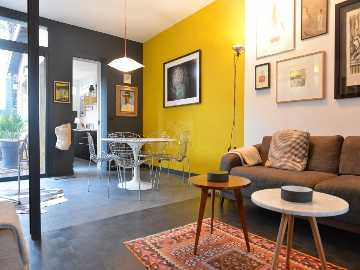Decosalon Deco Salon Gris Et Jaune Home Pinterest Salons Interiors And