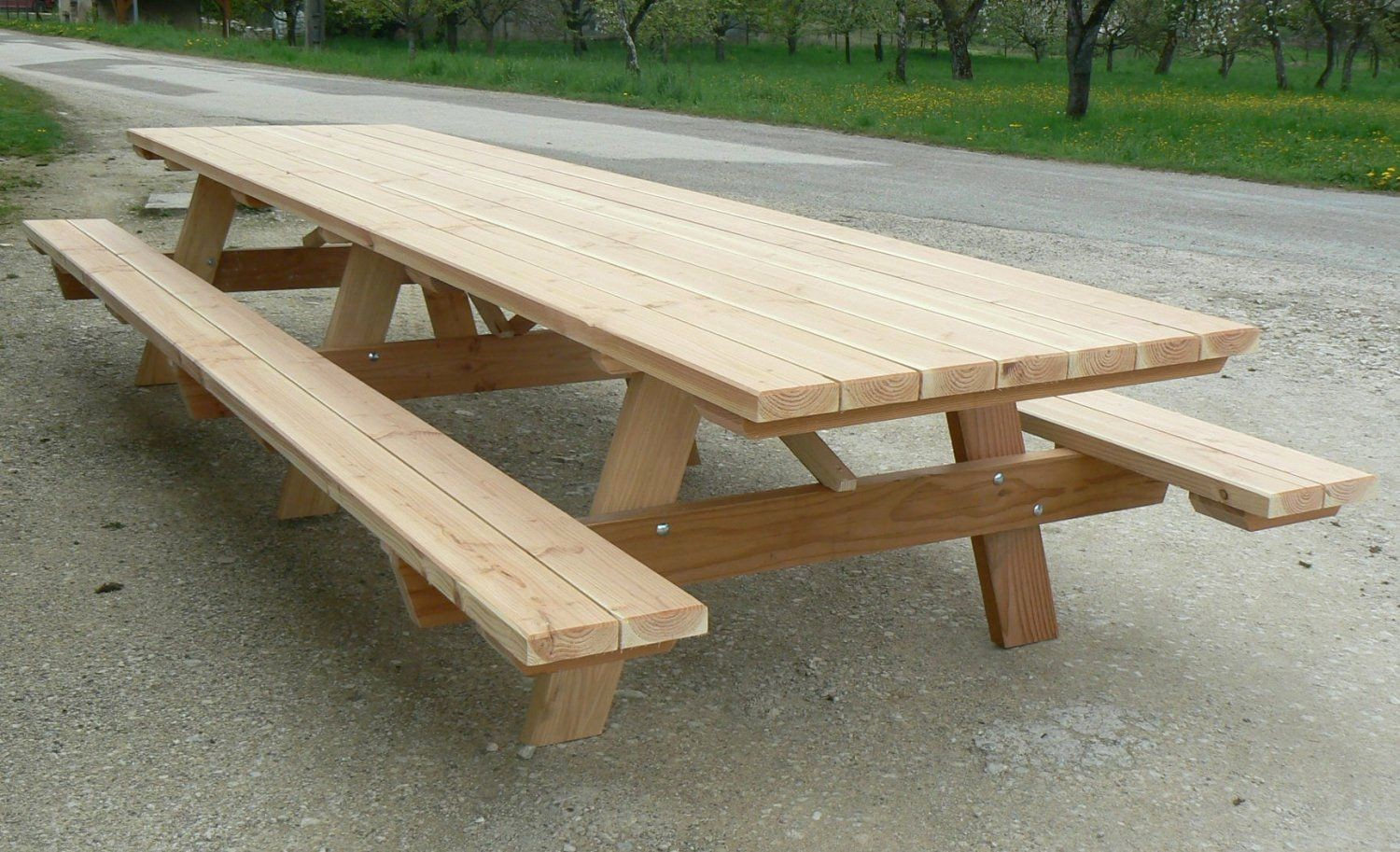 Emejing Construire Table De Jardin En Bois Photos - House Design ...