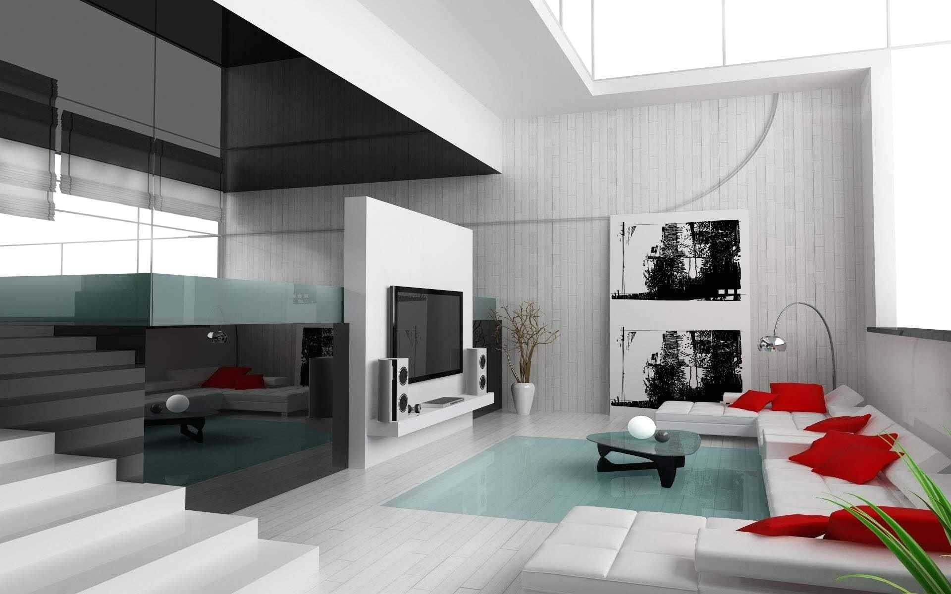 Decoration Maison Interieur Blanc | Illustration Design Intérieur ...