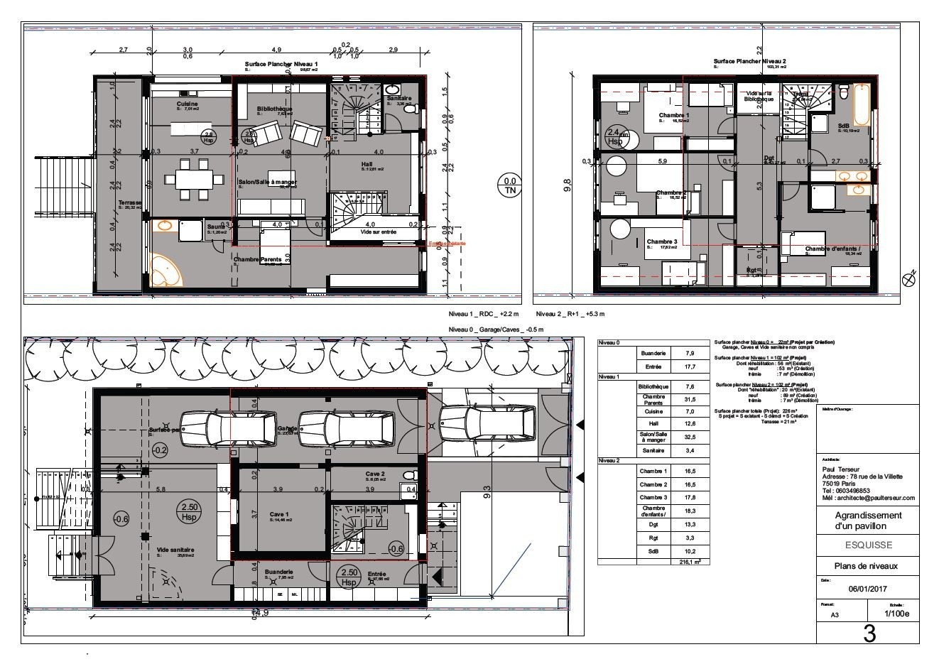 Plan Agrandissement Maison Individuelle Davidreed Co