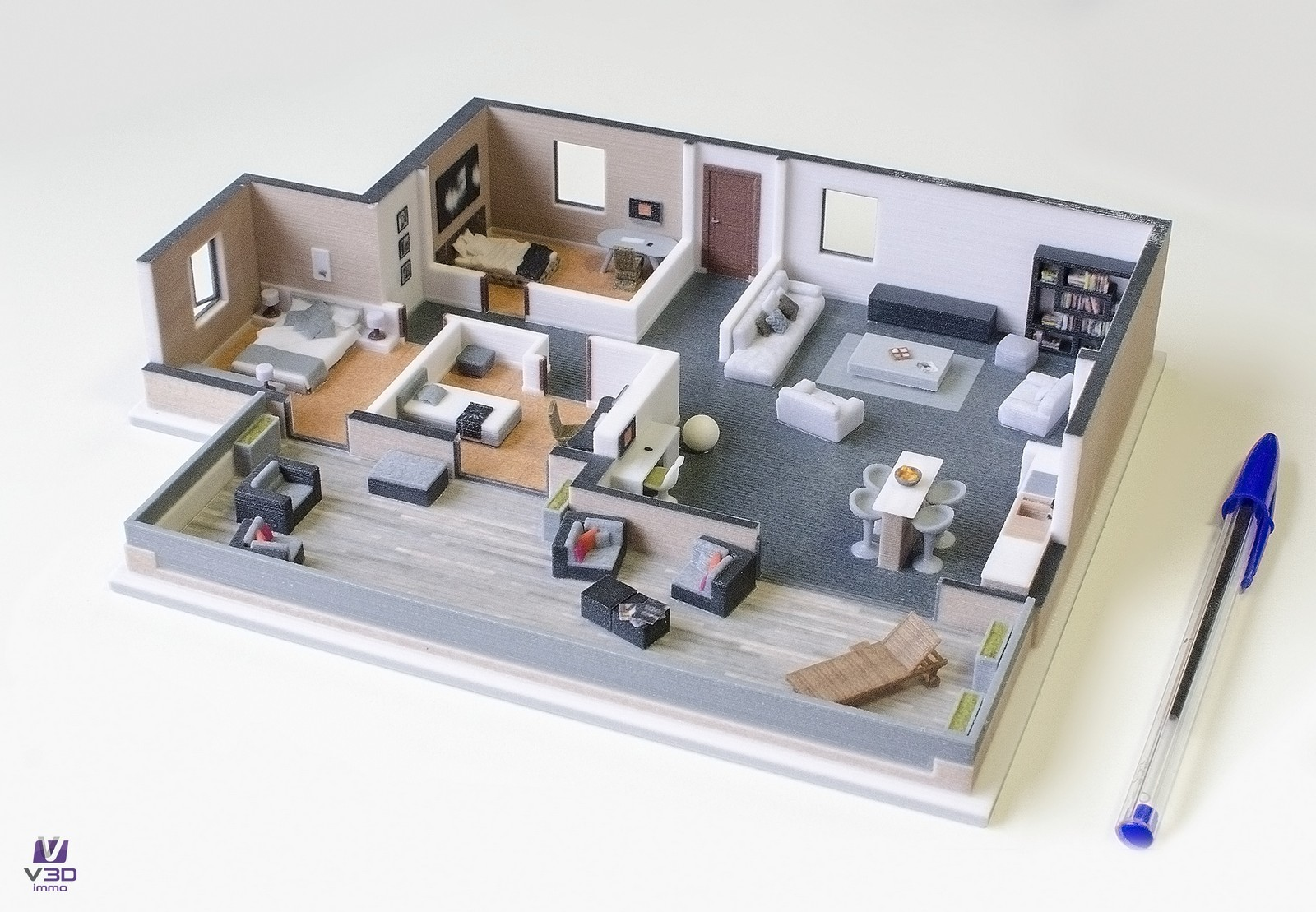 Plan Appartement Gratuit Plan Appartement 3d Gratuit Davidreed Co