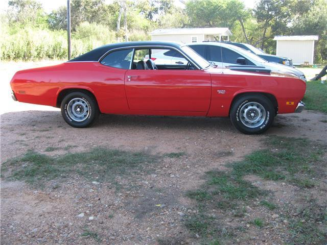 1970 Plymouth Duster 93,419 Miles red 340 Manual for sale - Plymouth