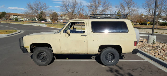 1985 CUCV M1009 62 Diesel K5 Blazer for sale - Chevrolet Blazer