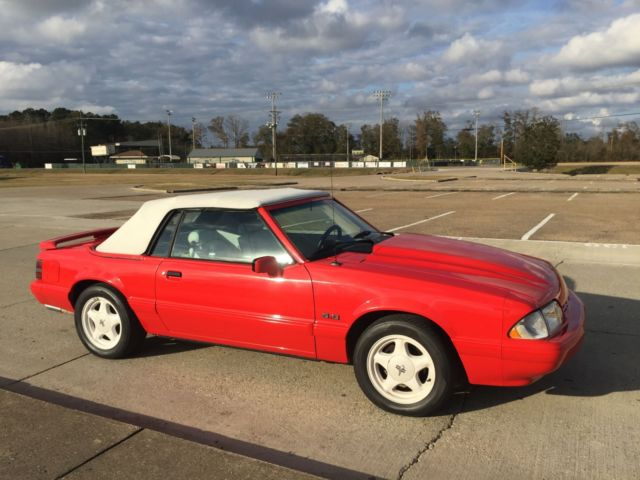 1992 Ford Mustang Lx 50 Summer Special 5 Speed Clean New