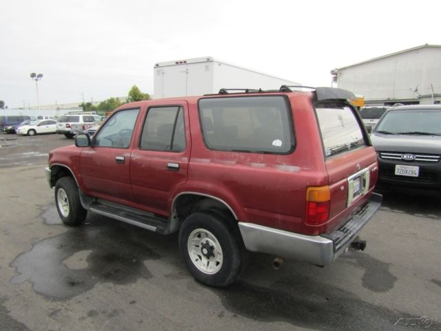 1992 Toyota 4runner Sr5 Used 3l V6 Automatic Suv No