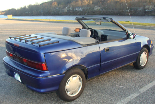Rare 1993 Chevrolet Geo Metro LSI Convertible - Automatic - Only