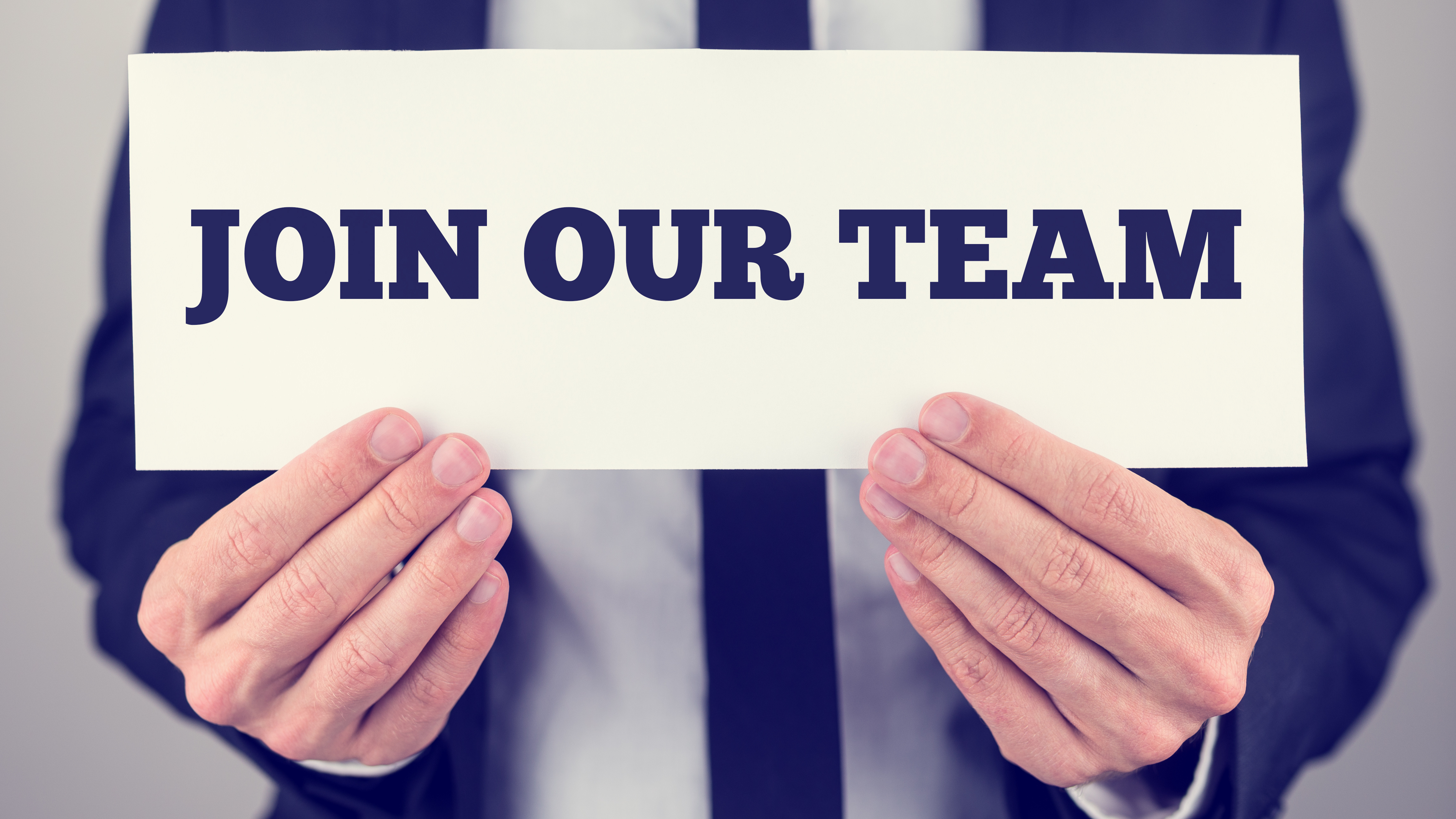 We are hiring! Click to Apply!