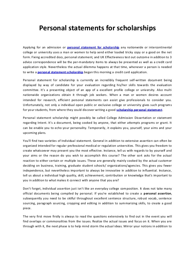 Personal Statement Conclusion Help \u2015 Conclusions \u2013 Three General