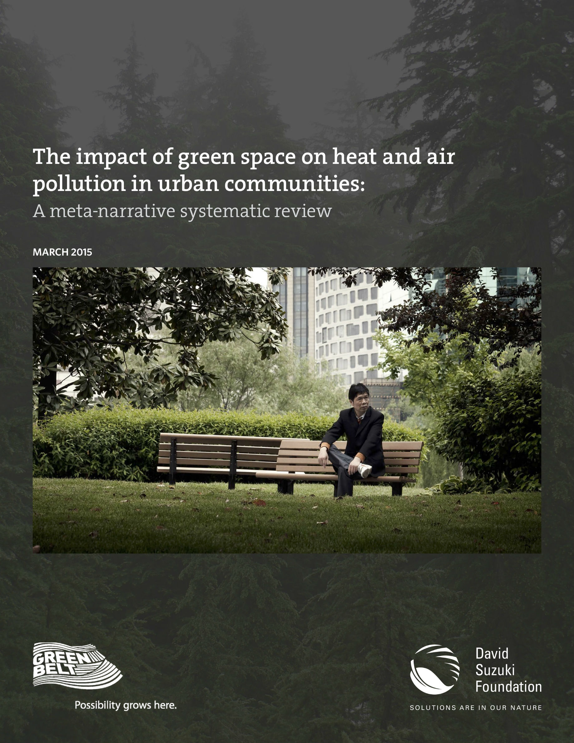 Heat Air The Impact Of Green Space On Heat And Air Pollution In Urban