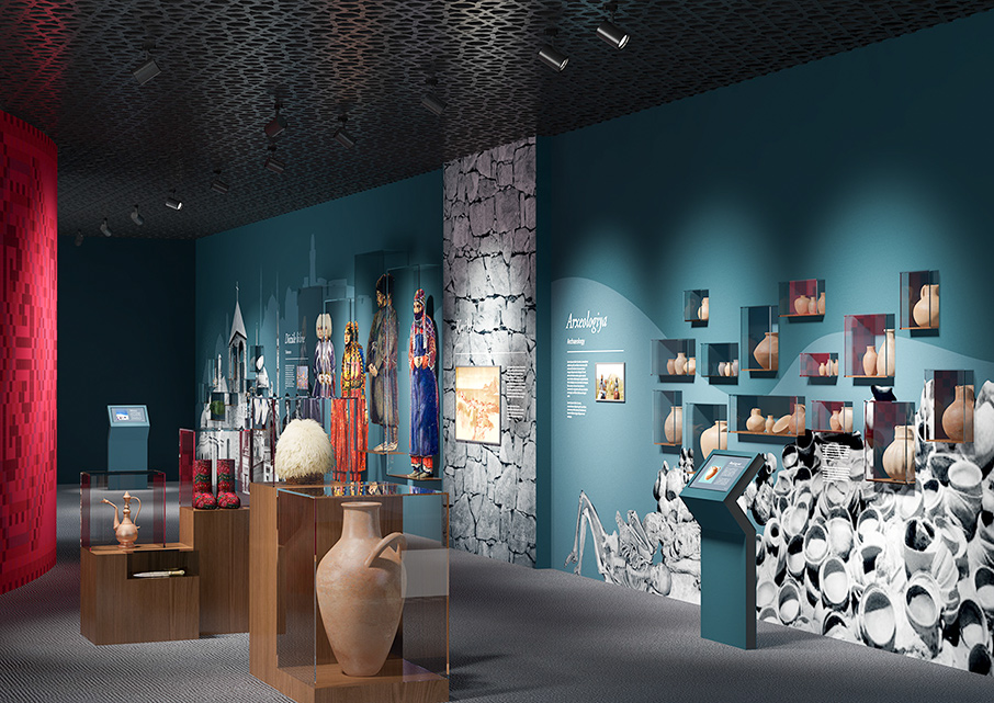Design Digital Oguz Museum Digital Renders / 3d Visualizations For
