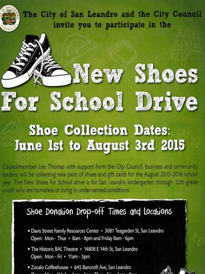 New Shoes for Shoe Drive! Davis Street