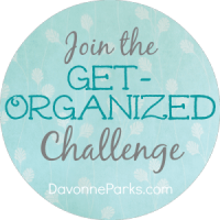 Join the Get-Organized Challenge and Giveaway!