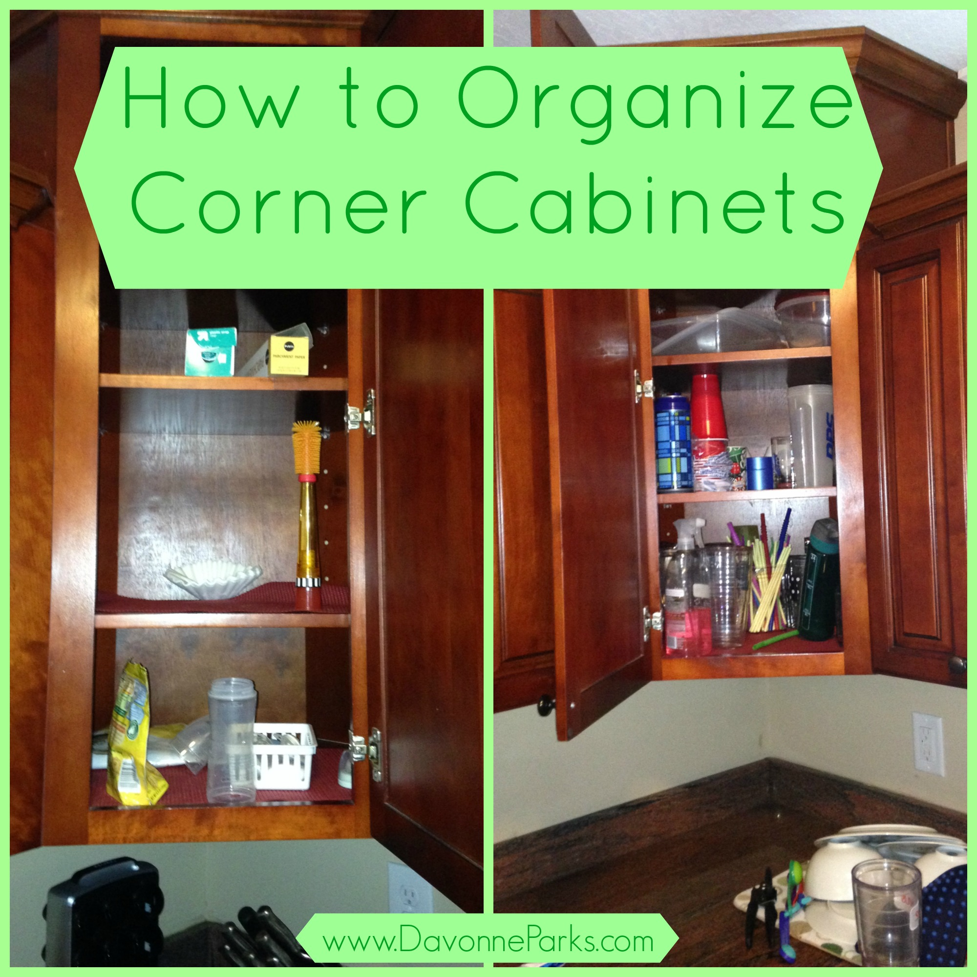 Kitchen Without Corner Cabinets How To Organize Corner Cabinets