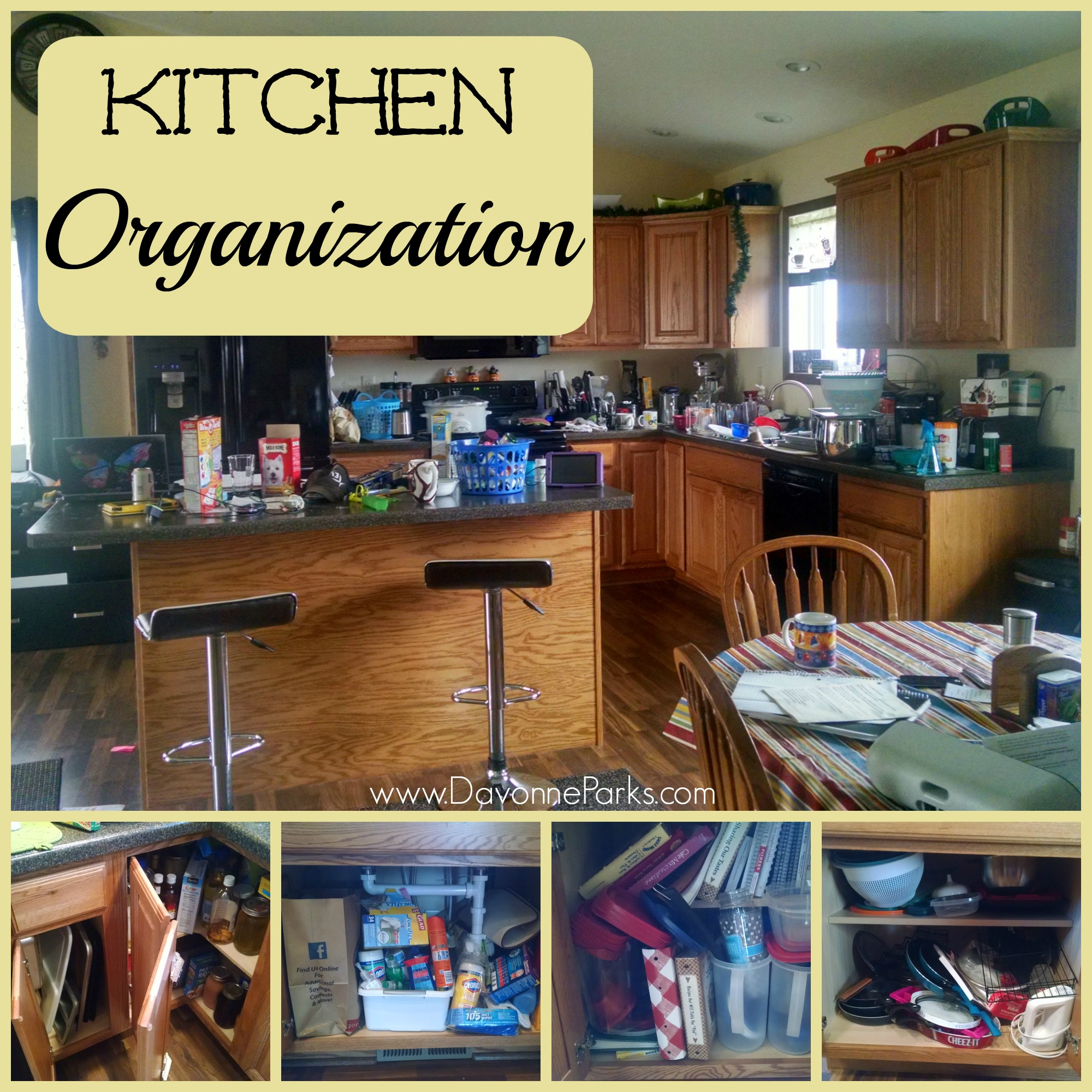 Organize Kitchen Cabinets Organizing Kitchen Cabinets And Countertops Davonne Parks