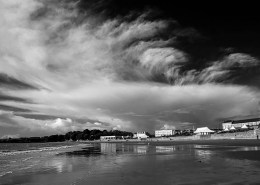 Barry Island bw