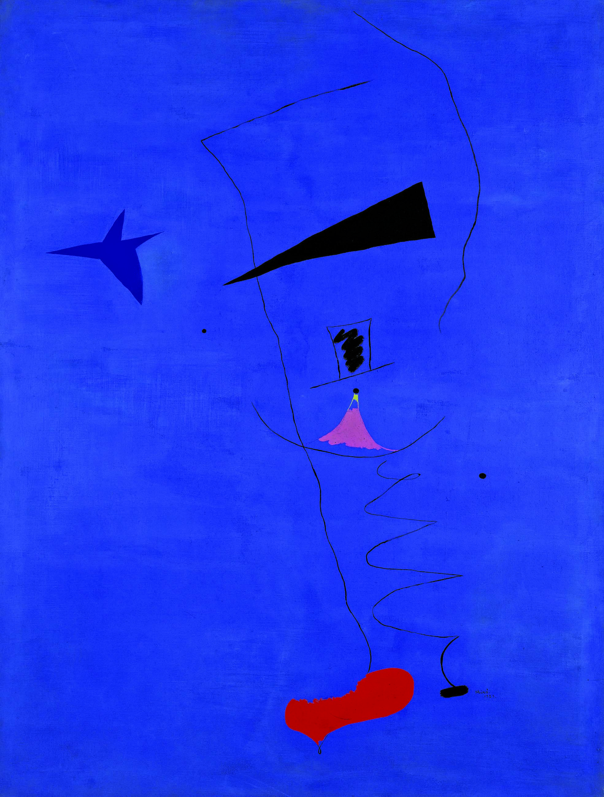 Joan Miro Holly Brackenbury Selects Peinture Étoile Bleue By Joan