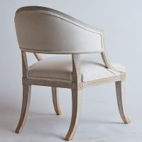 SOLD A Pair of Swedish, Late Gustavian, Barrel Back Chairs ...