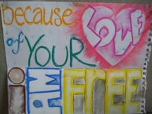 Because of Your Love I am Free