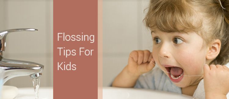 5 Tips For Flossing Your Kids Teeth