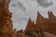 Can you see the Queen Victoria in the left top hoodoo?