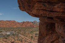 View from petroglyphs