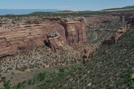 Fallen Rock - Colorado National Monument