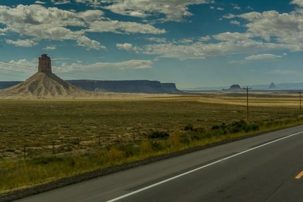 Uneventful ride from Mesa Verde to Albuquerque