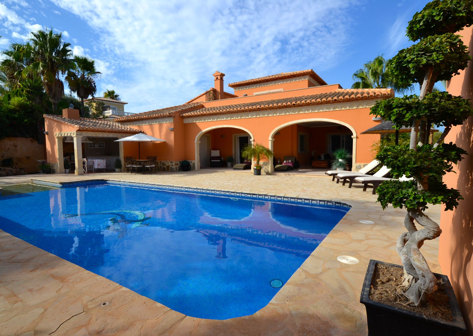 Whirlpool Garten Rattan Lovely Villa With Pool Jacuzzi Home Gym Xabia Javea Spain