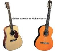 Cách phân biệt Guitar đệm hát và Guitar cổ điển