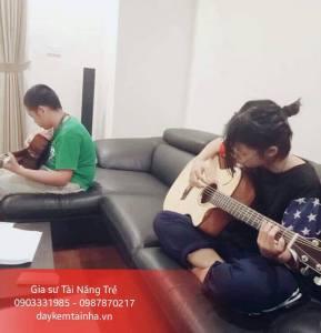 Nhận dạy Guitar tại nhà