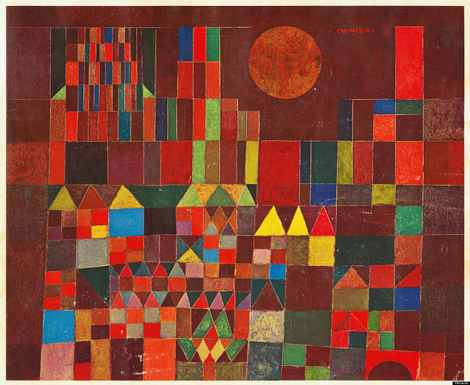 Cuadros Bauhaus Paul Klee Day Of The Artist