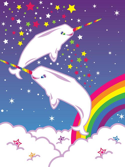 Cute Orca Wallpaper Day 123 Lisa Frank Unicorns Rainbows Puppies And