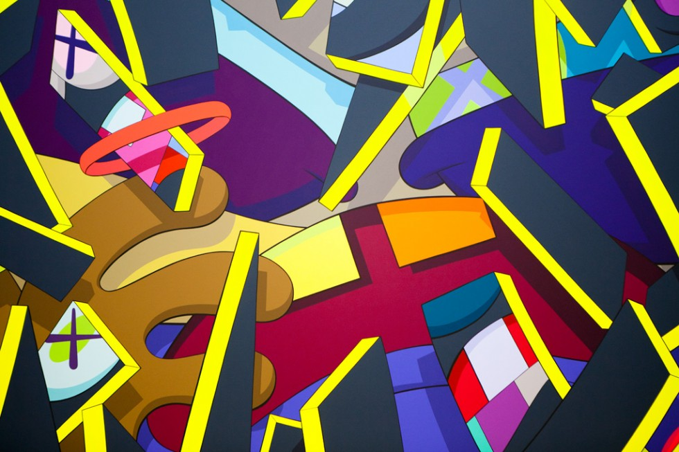 3d Street Art Wallpaper Day 326 Kaws Infusion Day Of The Artist