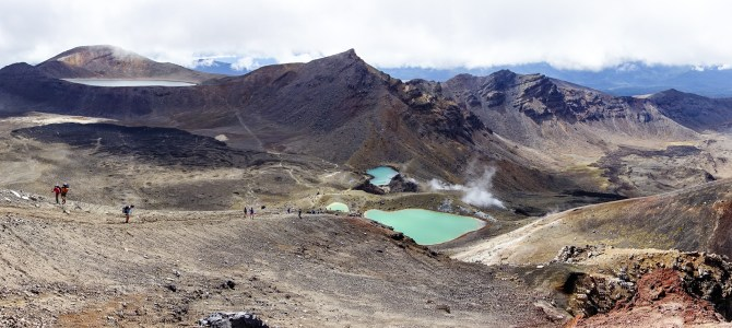 Tongariro Nationalpark –Top!