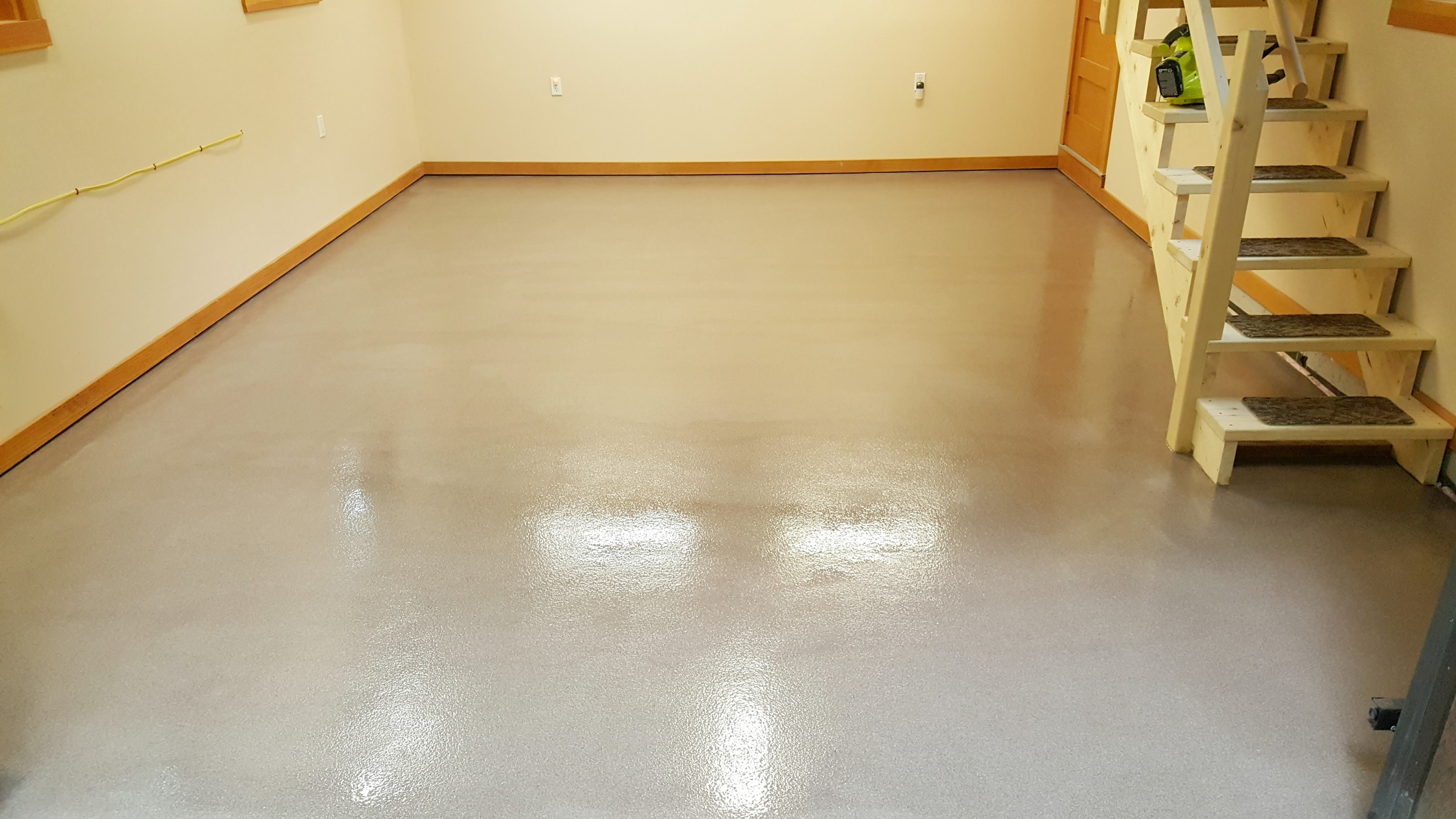 Garage Floor Epoxy Options Concrete Floor Epoxy In Maine Installed By Day S Concrete Floors Inc