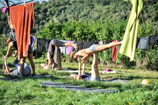 Yogaretreat Italien