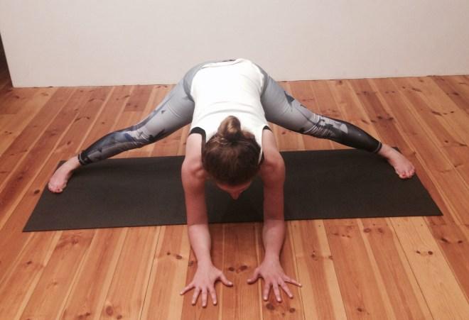 Ashtanga Yoga Grätsche
