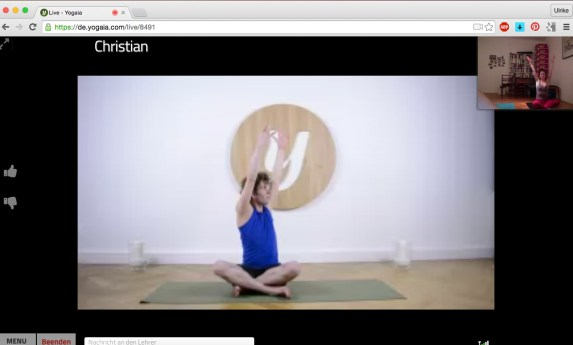 Pilates bei Yogaia - Christian Metz