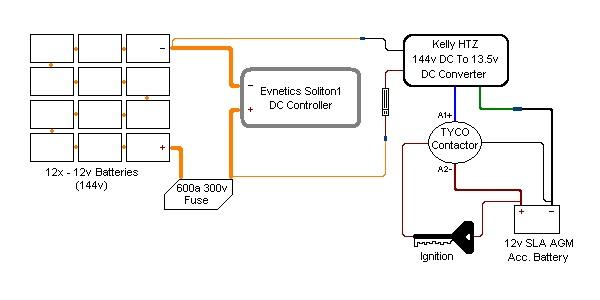 ev 100 wiring diagram