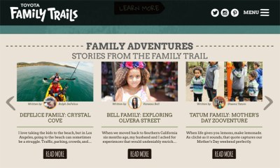 Blogging for FamilyTrails.com Launch