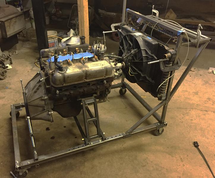 DazeCars, Home built engine run stand
